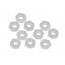 Set Tuerca de Nylon M3 (10 unidades)
