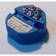 Transmisor PT100 (RTD) 4-20mA 2 hilos -50 a 100 °C