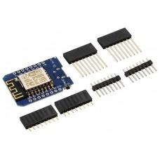 Wemos D1 Mini, compatible con Arduino y con Wifi