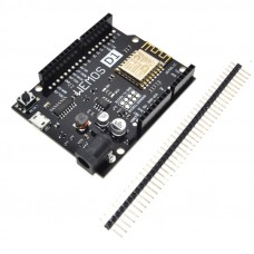 Wemos D1 R2, compatible con Arduino y con Wifi