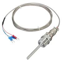 Sensor RTD PT100 de 3 Hilos con rosca NPT 1/2 Pulgada