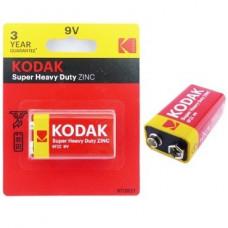 Batería 9V KODAK Super Heavy Duty Zinc