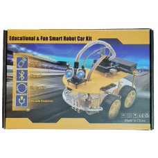 Carro Robot 4WD con Bluetooth