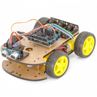 Carro Robot 4WD con Bluetooth