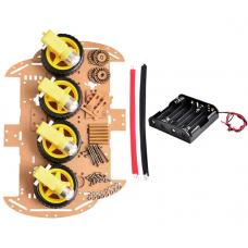 Kit Chasis Carro 4WD para Arduino